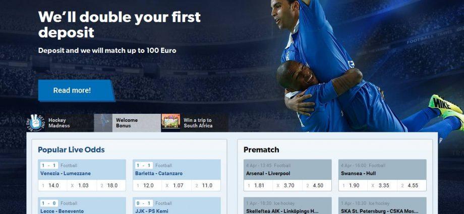 Velkomstbonus betting online tvg betting calculator